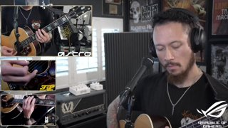 Trivium - What the Dead Men Say | Acoustic Cover | @matthewkheafy