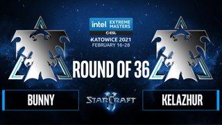 SC2 - Bunny vs. Kelazhur - IEM Katowice 2021: Round of 36