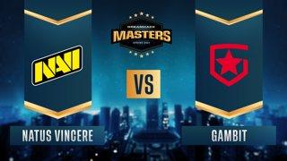 CS:GO - Gambit vs. Natus Vincere [Dust2] Map 2 - DreamHack Masters Spring 2021 - Grand-final