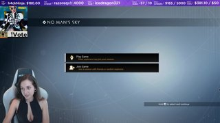 No Mans Sky (╯°□°)╯︵ ┻━┻ subs.twitch.tv/Khaljiit @Khaljiit