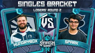 Hungrybox vs Spark - Singles Bracket: Losers' Round 2 - Smash Summit 10 | Puff vs Sheik