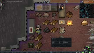 Rimworld, Randy Random, Losing is Fun difficulty :)