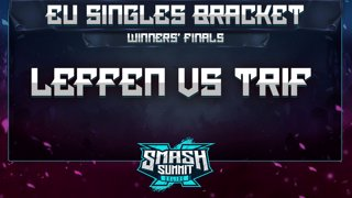 Leffen vs Trif - EU Singles Bracket: Winners' Finals - Smash Summit 10 | Fox vs Peach