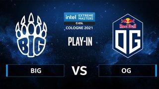 CS:GO - BIG vs OG [Dust2] Map 1 - IEM Cologne 2021 - Play-In