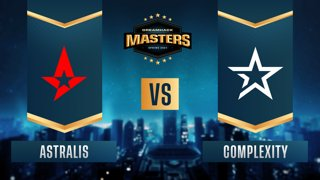 CS:GO - Astralis vs. Complexity [Vertigo] Map 1 - DreamHack Masters Spring 2021- Group B