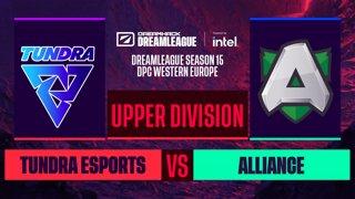 Dota2 - Alliance vs. Tundra Esports - Game 2 - DreamLeague S15 DPC WEU - Upper Division