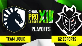 CS:GO - G2 Esports vs. Team Liquid [Vertigo] Map 2 - ESL Pro League Season 13 - Playoffs