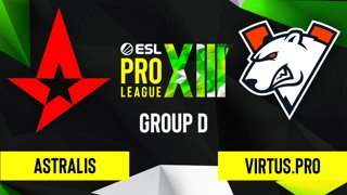 CS:GO - Astralis vs. Virtus.pro [Vertigo] Map 3 - ESL Pro League Season 13 - Group D