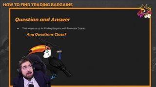 Zizaran - Path of Exile University - Finding a Bargain Q&A