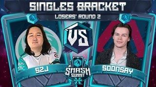 S2J vs Soonsay - Singles Bracket: Losers' Round 2 - Smash Summit 10 | Captain Falcon vs Fox
