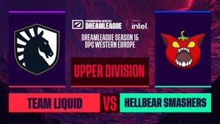 Dota2 - Team Liquid vs. Hellbear Smashers - Game 1 - DreamLeague S15 DPC WEU - Upper Division