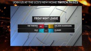 Friday Night League Week 4 | LCS Summer Split (2020)