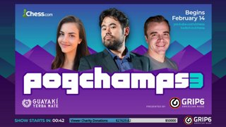 Highlight: FINALS: Neeko vs MichelleKhare: Pogchamps 3 Presented By GRIP6 - Hosts Nakamura and Rensch !donate