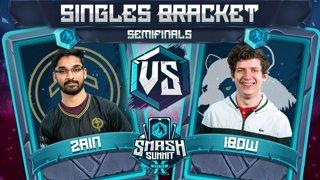 Zain vs iBDW - Singles Bracket: Semifinals - Smash Summit 10 | Marth vs Fox