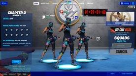 Ninja Trio Tourney w/ Megga and Emad