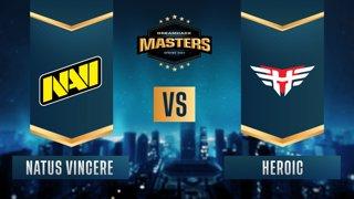 CS:GO - Heroic vs. Natus Vincere [Mirage] Map 1 - DreamHack Masters Spring 2021 - Semifinals