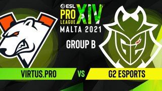 CS:GO - G2 Esports vs. Virtus.pro [Mirage] Map 2 - ESL Pro League Season 14 - Group B