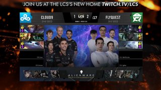 LCS Playoffs: Cloud9 vs. FlyQuest