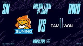 Mundial 2020: Grande Final | Suning x DAMWON Gaming (3º Jogo)