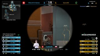 LIVE: ESEA Premier - Wisla All In Games vs. SproutGG - EU - Playoffs Round 1
