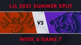 SG vs RJ LJL 2021 Summer Split Week 6 Game 7