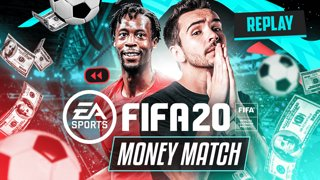MONEY MATCH CONTRE Gaël Monfils sur FIFA 2020 !