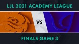 V3.A vs CGA.A LJL 2021 Academy League Tournament Round Finals Game 3