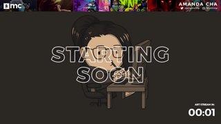 mctv - Amanda Cha / GameShrimp - Live Art + Music 🎧🎨