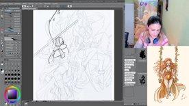 Destacado: Nueva ilustración Angemon y Angewomon!