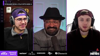 Twitch Rivals: Streamer Bowl II Playoffs Week 4 ft. Fortnite