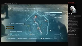 MGSV The Phantom Pain - Red Brass Mission PS4