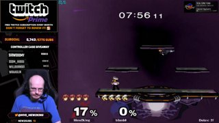 JV7?!  M2K Marth vs Online Luigi