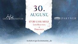 Große Guild Wars 2 Ankündigung am 30. August!