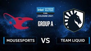 CS:GO - mousesports vs Team Liquid [Inferno] Map 3 - IEM Cologne 2021 - Group A