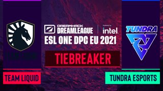 Dota2 - Team Liquid vs. Tundra Esports - Game 1 - DreamLeague Season 14 DPC: EU - Tiebreaker - Round 2