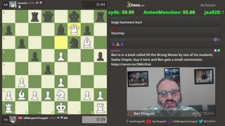 Protect your pawns. Never play f3/f6. GM Ben Finegold breaks the rules