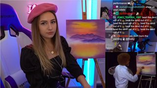 Highlight: Painting with Bob Ross