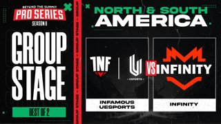 INF.UESPORTS vs Infinity Game 1 - BTS Pro Series 8 AM: Group Stage w/ rkryptic & neph