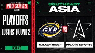 Galaxy Racer vs Polaris Game 3 - BTS Pro Series 8 SEA: Playoffs w/ Ares & Danog