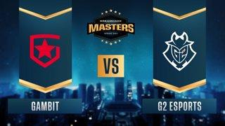 CS:GO - Gambit vs. G2 Esports [Inferno] Map 1 - DreamHack Masters Spring 2021 - Semifinals