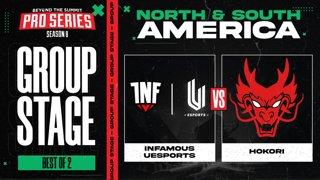 INF.UESPORTS vs Hokori Game 1 - BTS Pro Series 8 AM: Group Stage w/ rkryptic & neph