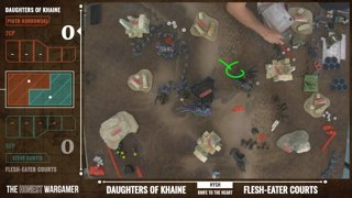 Highlight: London GT / Game Four: Flesh-eater Courts Vs. Daughters of Khaine
