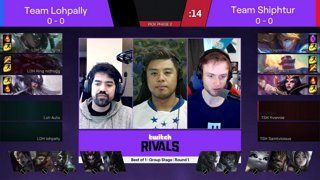 Twitch Rivals: League of Legends Team Draft Showdown III (NA)
