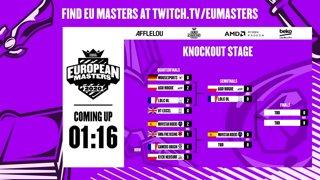 European Masters Spring 2020 | Quarterfinals | Day 3