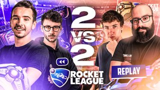 2vs2 sur Rocket League avec Ponce, Sardoche & MoMaN !