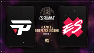 paiN vs Extra Salt (Overpass) - cs_summit 8 Playoffs: 5th Place Decider - Game 1