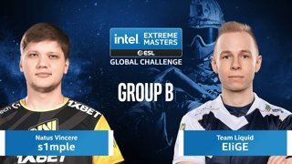 CS:GO - Natus Vincere vs. Team Liquid [Mirage] Map 1 - IEM Global Challenge 2020 - Group B