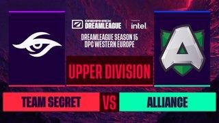 Dota2 - Team Secret vs. Alliance - Game 1 - DreamLeague S15 DPC WEU - Upper Division