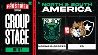 NoPing vs FG Game 2 - BTS Pro Series 8 AM: Group Stage w/ rkryptic & neph