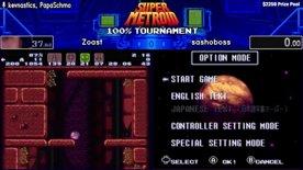 Top 16. Zoast vs sashoboss. Super Metroid 100% Tournament 2020.